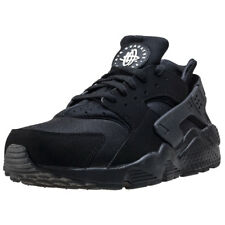 Nike Air Huarache Mens Black White Mesh & Synthetic Trainers