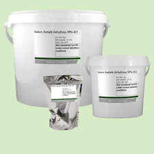 Sodium Acetate Anhydrous 99% ACS 100g to 5Kg