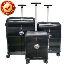New Hard Case Shell ABS 8 Wheel Spinner Luggage Suitcase Trolley travel TSA Lock