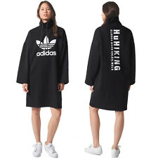 adidas Originals Womens Pharrell Williams HU Hiking Trefoil Logo Sweater Dress