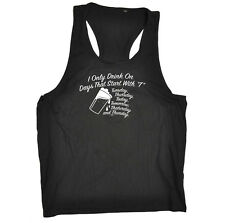 Funny Novelty Mens Vest Singlet Tank Top - Start With T