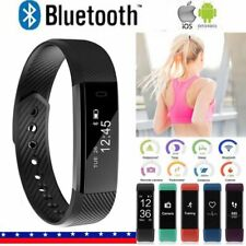 Smart Fit Watch Activity Step Tracker Calorie Counter Bracelet Wristband for IOS