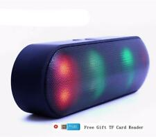 Bluetooth Speaker LED Portable Wireless Speaker Mini Sound System