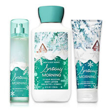 Winter Collection Bath & Body Works Snowy Morning Body Lotion, Body Cream & Mist