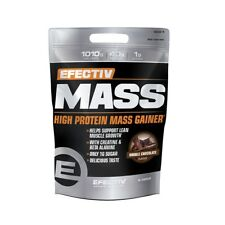 Efectiv Mass 5.4kg Protein Weight Gainer 1010 calories per serving low sugar