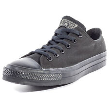 Converse Chuck Taylor All Star Ox Unisex Black Black Canvas Trainers