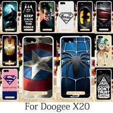 TAOYUNXI Phone Cases For Doogee X20 Cover Silicone Doogee X20 Case Anime Batman