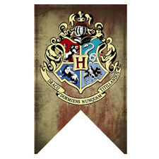 Harry Potter Banners Gryffindor Slytherin Hufflerpuff Ravenclaw College Flag