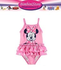 Costume mare piscina neonata minnie disney originale 0 3 6 9 12 18 24 mesi Pre