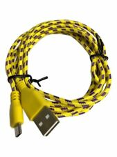 1M 2M 3M Braided Micro USB Charger Data Cable Lead for Samsung HTC Android Phone