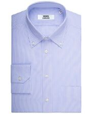 Camicia uomo Rigato Azzurro | Regular/Slim | Collo Button Down | Cotone | PERSON