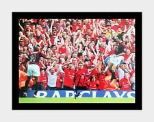 Signed and framed Robert Pires Arsenal invincibles photo