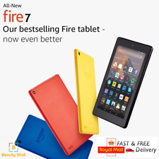 "LATEST MODEL - All-New Kindle Fire 7 Tablet with Alexa, 7"" Display, 8 GB / 16 GB"