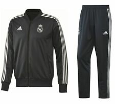 3007fc1ad Adidas Football Soccer Real Madrid CF Mens Full Tracksuit 2018 2019 Jacket  Pants