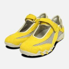 Niro in Yellow Suede by Mephisto Ladies Designer Sneaker Trainers