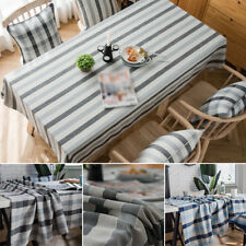 Rectangle Tablecloth Table Cloth Home Picnic Cover Washable Polyester Hot New