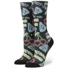 Stance Womens Cooties Socks in Black | NEW Stance Womens Crew Length Socks