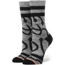 Stance Womens Cleo Socks in Grey | NEW Stance Womens Crew Length Socks