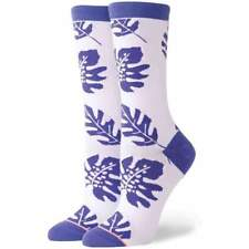 Stance Womens Carmen Crew Socks in White | NEW Stance Womens Crew Length Socks