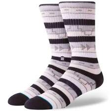 Stance Marseille Socks - Grey | NEW Stance Mens Crew Length Socks