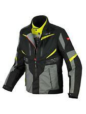 Giacca impermeabile moto Spidi X-Tour H2Out Nero Giallo
