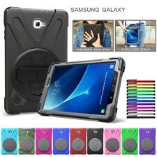 "For Samsung Galaxy Tab A 8.0"" 9.7"" 10.1"" 10.5"" Hybrid Rugged Case Stand Cover"