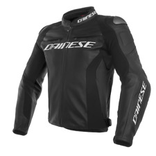 DAINESE GIACCA IN PELLE RACING 3 NERO