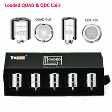 5 Pieces Authentic Yocan2018 Loaded QUAD/QDC Coils US Seller Fast Free Shipping