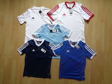 ADIDAS GENUINE TABE 14 JSY BOYS T-SHIRTS AGE 7-13 YEARS ASST COLOURS  RRP £14.99