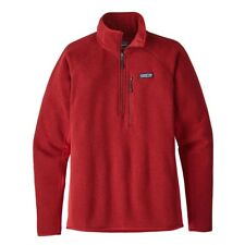 Patagonia Performance Better Sweater 1/4 Zip Fleece Classic Red