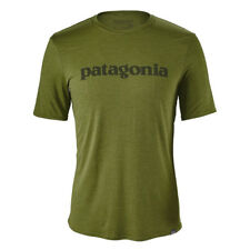 Patagonia Capiline Daily Graphic Baselayer T-shirt Rune Age/Spouted Green