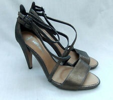 a510406105347b NEW CLARKS SARONG CURTAIN WOMENS BRONZE LEATHER SANDALS SHOES SIZE 7.5    41.5