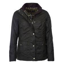 Barbour Womens Sandsend Wax Jacket Fern BARBOUR SALE - 20% OFF