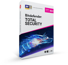 BitDefender Total Security 5 Users 2019 NO GLOBAL Mexico and Central America
