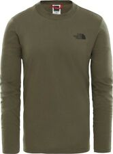 THE NORTH FACE T-shirt Uomo T92TX1-M LS EASY Verde