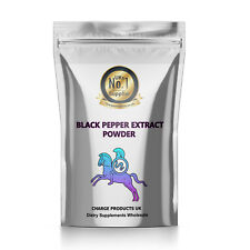 BLACK PEPPER EXTRACT POWDER PIPERINE - 2g 4g 10g 25g 50g 100g