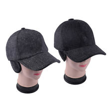 54287af32bc Adjustable Men Winter Warm Baseball Casual Cap Earflap Earmuffs Golf  Outdoor Hat