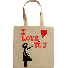 I LOVE YOU - NEW AMAZING GRAPHIC HAND BAG/TOTE BAG
