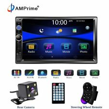 """Universal 2 DIN Car Multimedia Player Stereo 7"""" Touch Screen Video MP5 Player"""