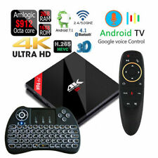 Octa Core H96 pro + Voice Control Bluetooth 4.1 Dual Wifi Android 16gb/2gb Tv