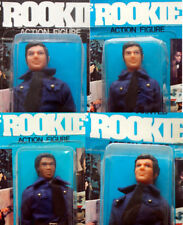 "1975 ROOKIES ljn fits 8"" mego figure MOC -- MIKE TERRY WILLIE / Accessory Pack"