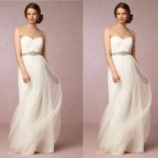 NEW $260 BHLDN Jenny Yoo Annabelle Ivory Tulle Wedding Dress Gown Bride