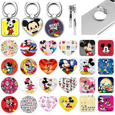 Mickey Mouse Metal Finger Ring Universal Cell Phone Grip Tablet Stand Holder New