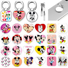 Disney Mickey Mouse Universal Metal Finger Ring Phone Grip Tablet Stand Holder