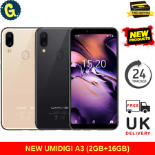 """NEW UMIDIGI A3 16GB+2GB 4G 5.5"""" Android 8.1 Face Unlock 4G Android Smartphone UK"""