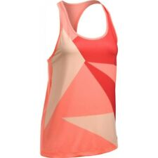 UNDER ARMOUR CANOTTA RUNNING GEO RUN TANK ARANCIONE