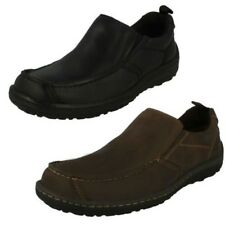Hombre Hush Puppies Casual-Slip On Zapatos Belfast Doble