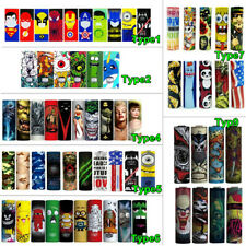 100~50pcs 18650 20700 21700 Battery Wrap Sleeve Case Skin Sticker Cover