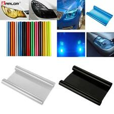 30cmx100cm Auto Car Tint Headlight Taillight Fog Light Vinyl Smoke Film Sheet