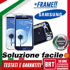 LCD+TOUCH SCREEN+FRAME SAMSUNG GALAXY S3 NEO I9301 I9308 DISPLAY VETRO